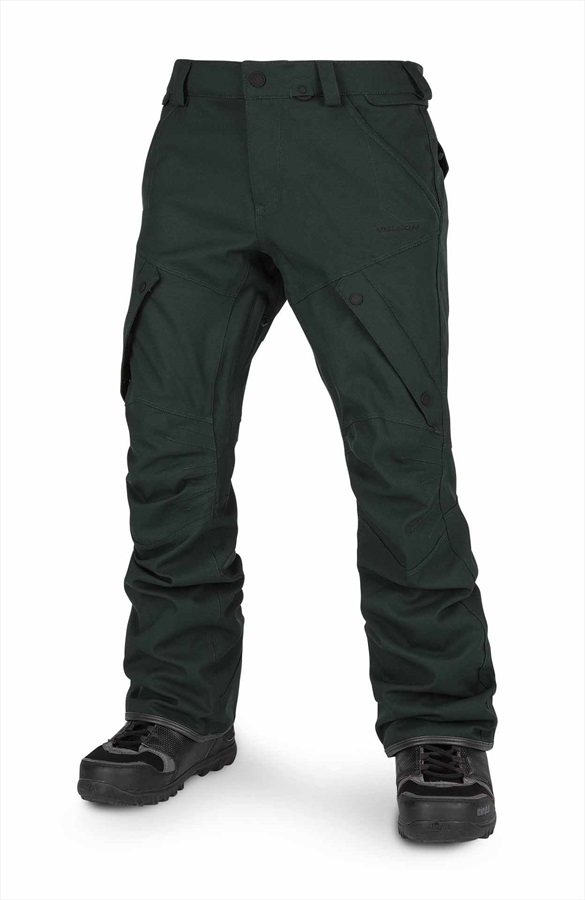 Volcom Articulated Men's Ski & Snowboard Pants S Dark Green
