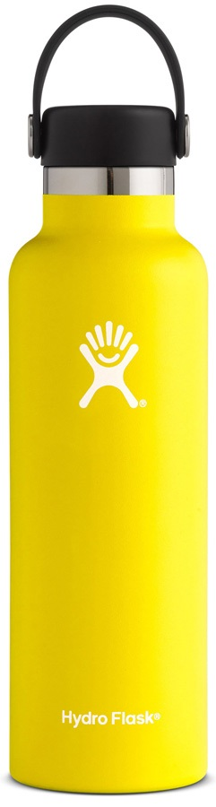 Hydro Flask 21oz Standard Mouth With Flex Cap Water Bottle - Lemon