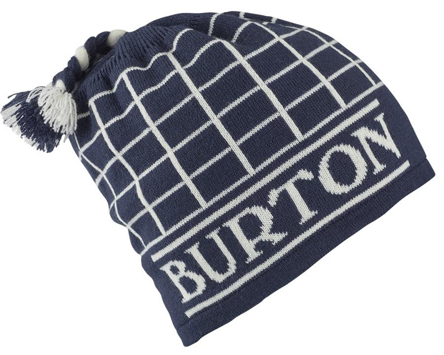 Burton Tatonic Fleece Lined Ski/Snowboard Beanie, Mood Indigo