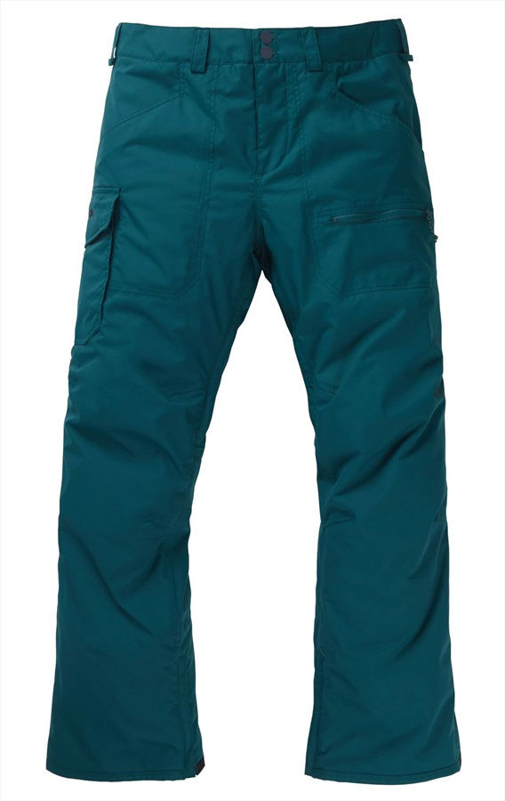 Burton Covert Insulated Snowboard/Ski Pants Trousers, M Deep Teal
