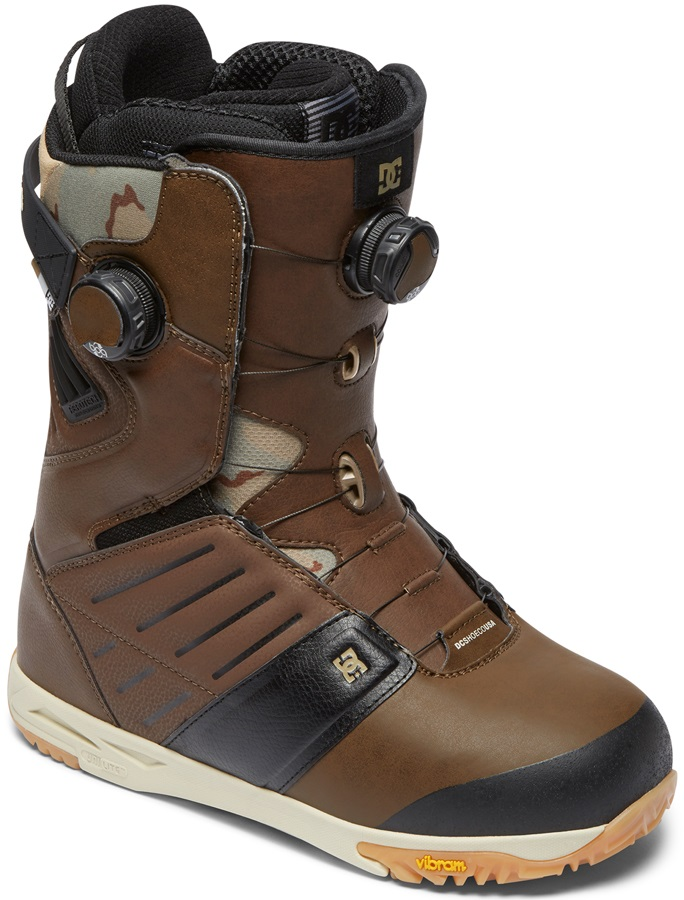 DC Judge Boa Snowboard Boots, UK 10.5 Brown 2019
