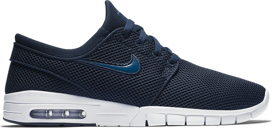 d99931a89d357 Nike SB Stefan Janoski Max Men's Skate Shoes, UK 7 Obsidian/Blue Force