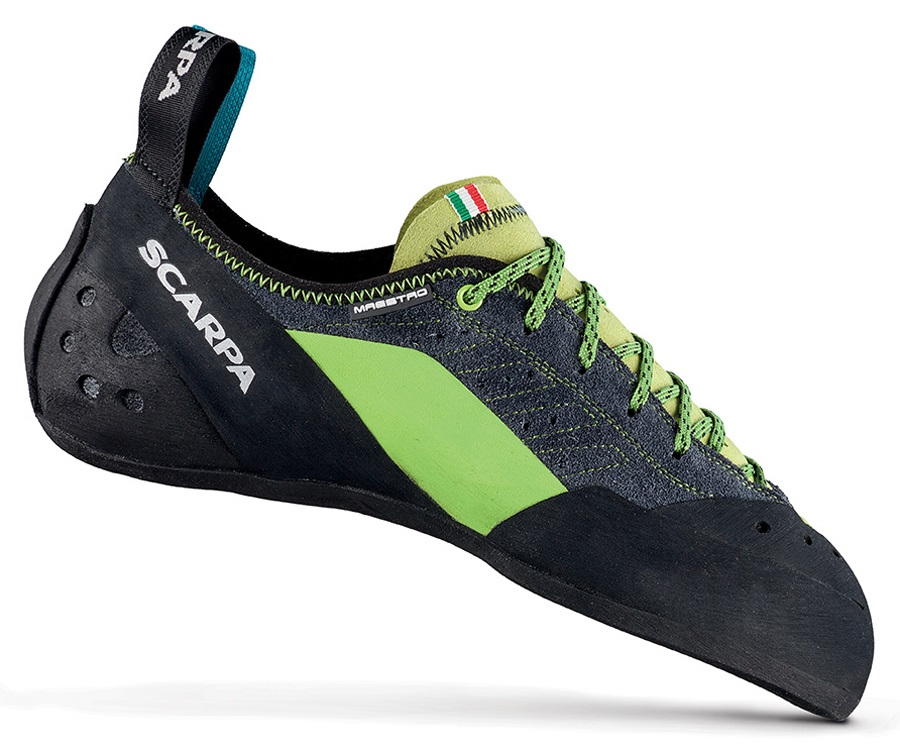 Scarpa Maestro Rock Climbing Shoe: UK 6.5 | EU 40, Ink