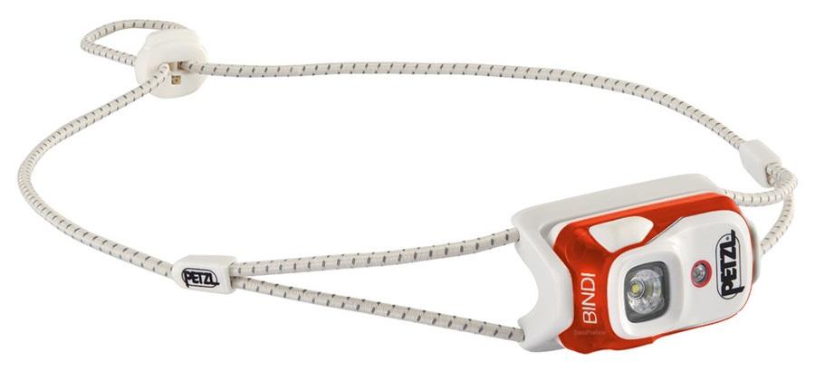 Petzl Bindi Ultralight Headtorch, 200 Lumens Orange