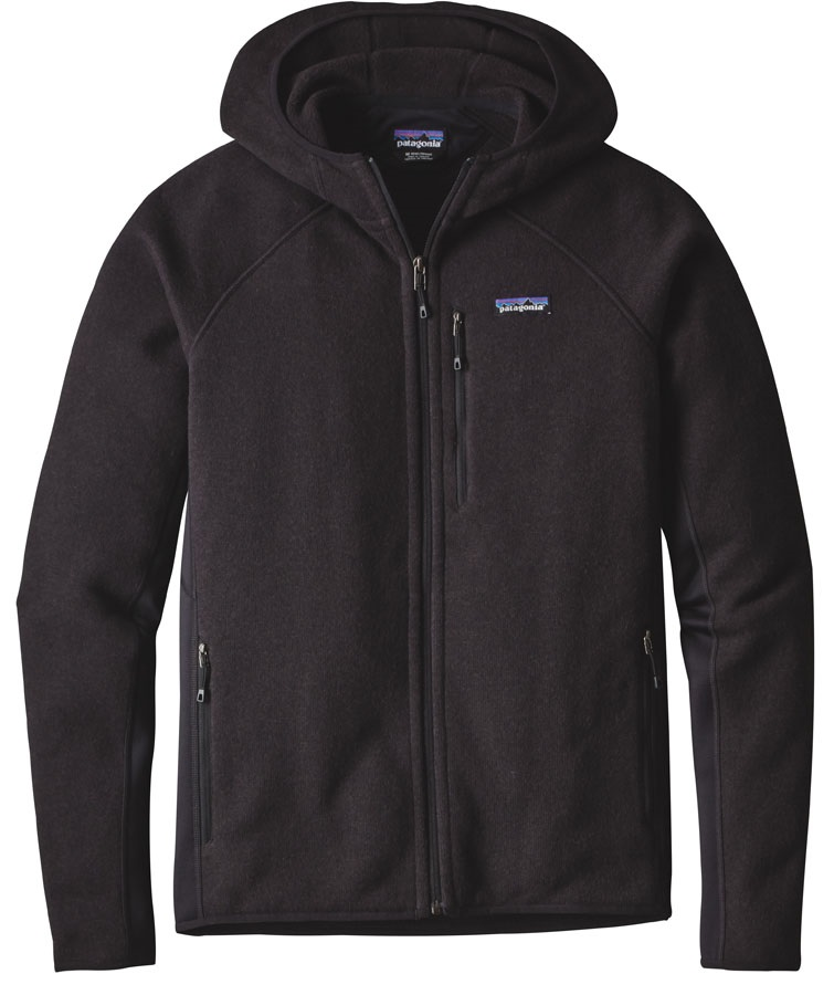 Patagonia Performance Better Sweater Fleece Hoody M Black