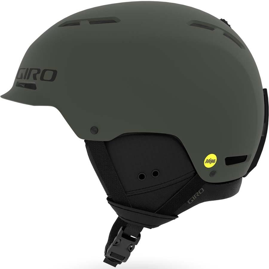 Giro Trig MIPS Snowboard/Ski Helmet, M Matte Olive