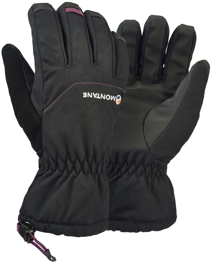 Montane Tundra Mountain Women's Waterproof Gloves, L Black