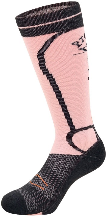 Picture Adult Unisex Magical Snowboard & Ski Socks, M Pink