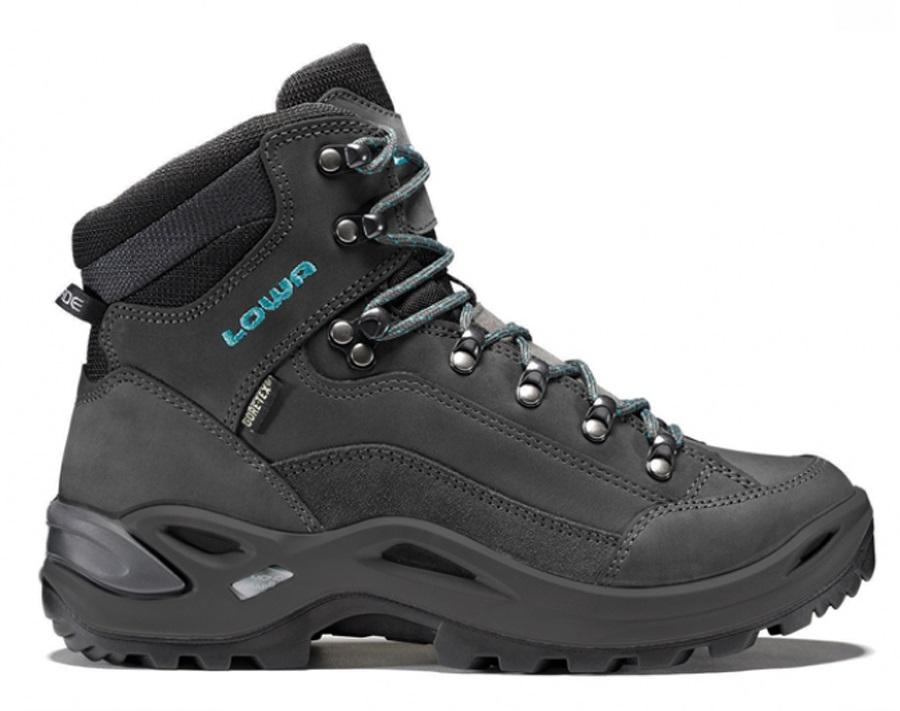 dc48a4e1621 Lowa Renegade GTX Mid Women's LTR Hiking Boots UK 4 Black