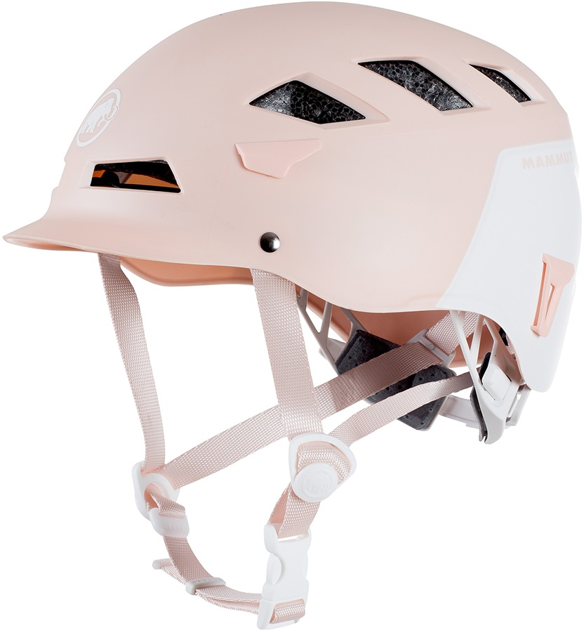 Mammut Adult Unisex El Cap Rock Climbing Helmet, 56-61cm Candy/White