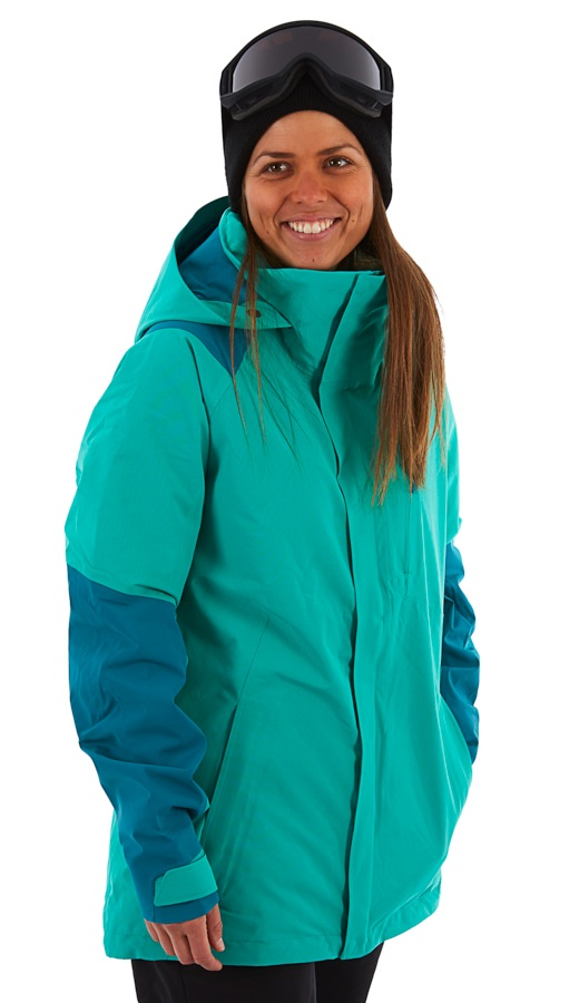 Burton [ak] 2L Embark Womens Gore-Tex Snowboard Jacket, S Harbor