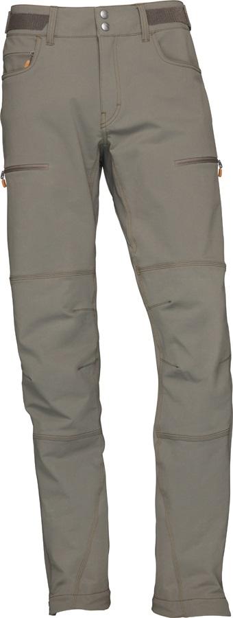 Norrona Svalbard Flex1 Pants Hiking/Walking Trousers, L Slate Grey