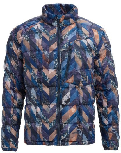 Burton Ak Bk Down Insulator Full Zip Jacket M Robbins