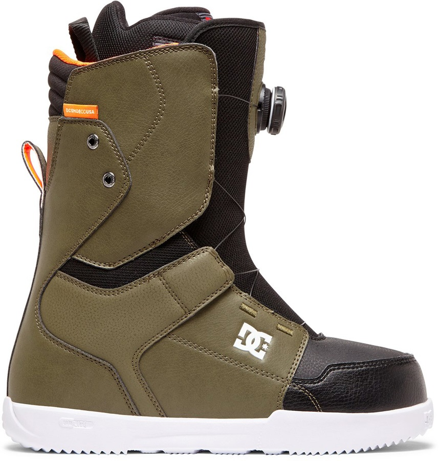 DC Scout Boa Snowboard Boots, UK 9 Olive Night 2020