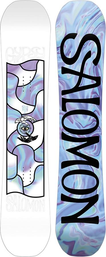 Salomon Gypsy Women's Hybrid Camber Snowboard, 147cm 2020