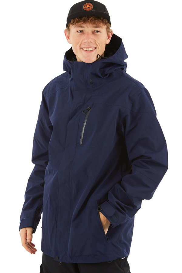 Volcom L Gore-Tex Ski/Snowboard Jacket XL Navy