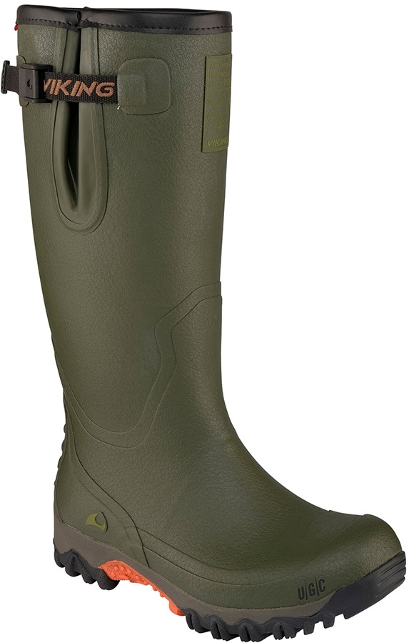Viking Trophy II Wellington Boots Men's Wellies, UK 7.5 Green