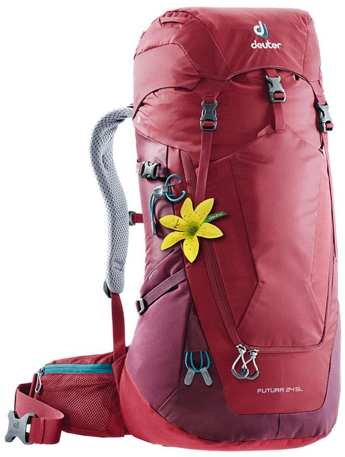ff322f48d Deuter Futura 24 SL Women's Hiking Backpack, 24L, Cranberry-maron