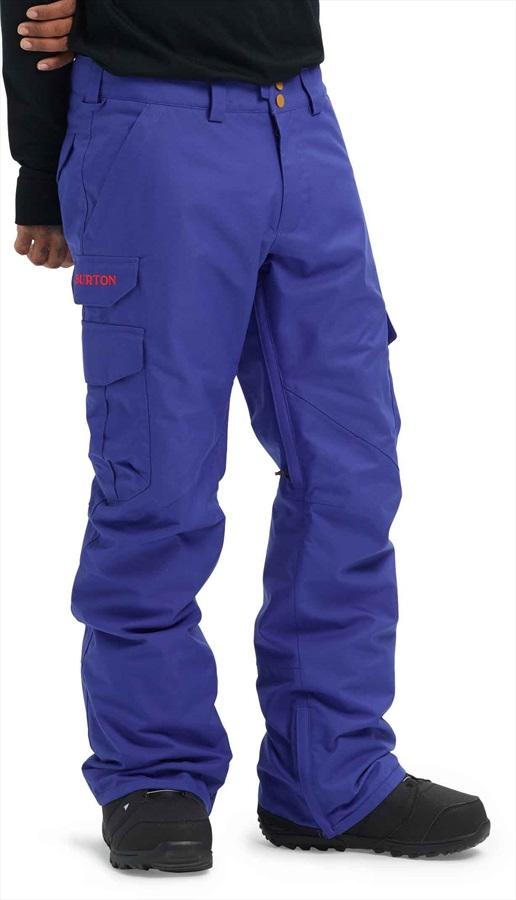 Burton Cargo Relaxed Fit Snowboard/Ski Pants, M Royal Blue
