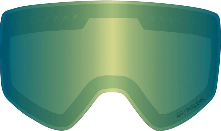 Dragon NFXs Snowboard/Ski Goggles Spare Lens LumaLens Green Ion