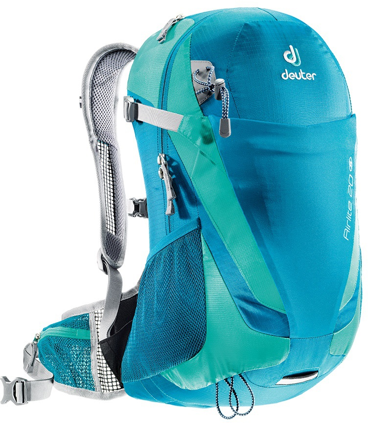 Deuter Airlite 20 SL Hiking Backpack, 20L Petrol/Mint