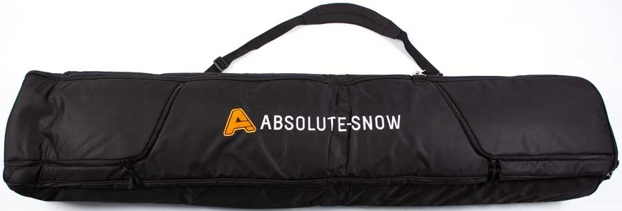 Absolute Supreme Wheelie Ski/Snowboard Bag 190cm All Black