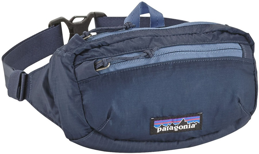 detailed look many styles detailed images Patagonia LW Travel Mini Hip Pack Bum Bag, 1L Dolomite Blue