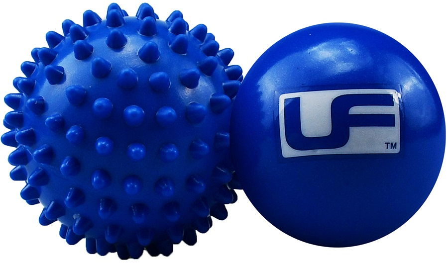 Urban Fitness Equipment Hot Cold Massage Ball Set, Blue