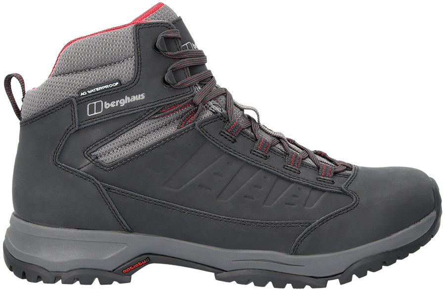 b79f0a1022f Berghaus Expeditor Ridge 2.0 Hiking Boots, UK 11.5 Black/Red