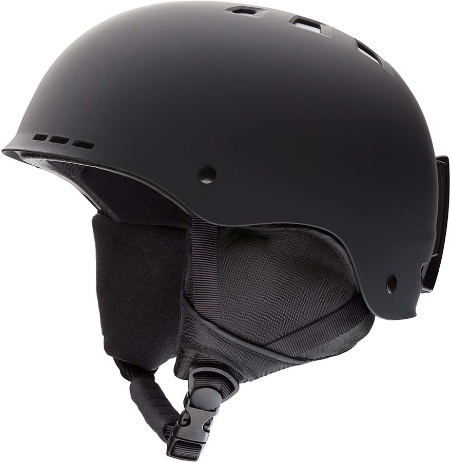 Smith Holt Snowboard/Ski Helmet, M Matte Black 2020