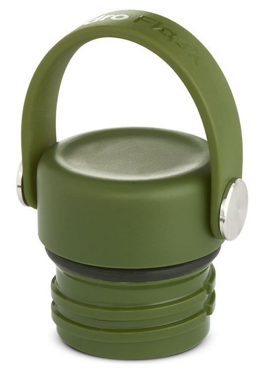 Hydro Flask Standard Mouth Flex Cap Spare Water Bottle Cap, Olive