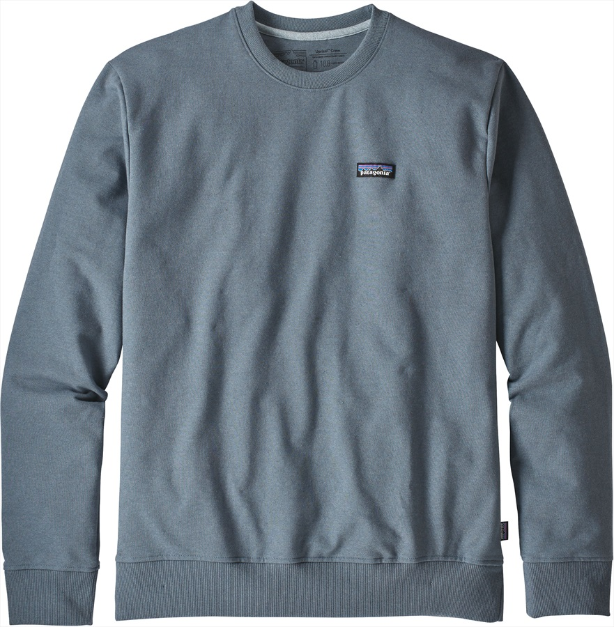Patagonia P-6 Label Uprisal Crew Sweatshirt, S Woolly Blue