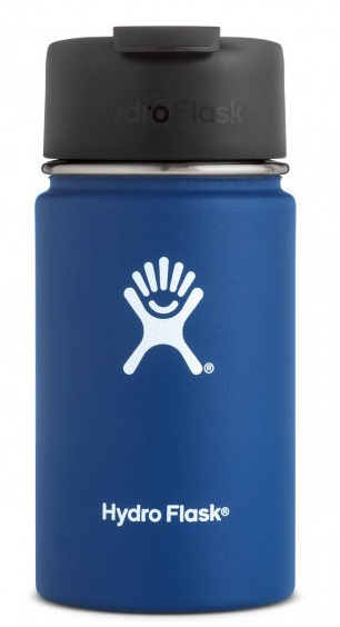 Hydro Flask 12oz Wide Mouth Flip Lid Coffee Vacuum Flask, Cobalt
