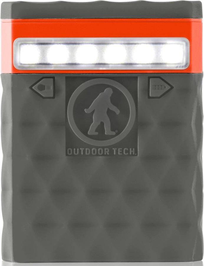 Outdoor Tech Kodiak 2.0 Portable Battery Pack & Charger, 6000 MAh Grey