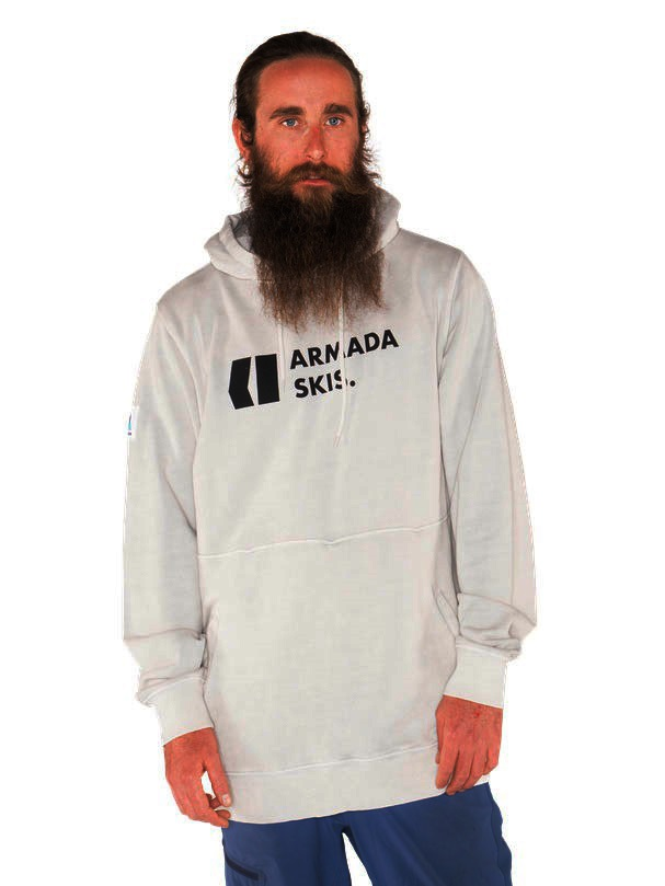 Armada Multiply Pullover Hoodie, M Snow Enzyme
