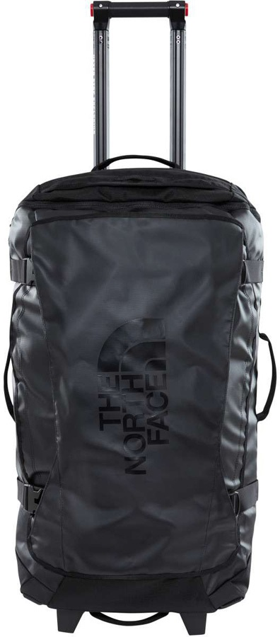 """North Face Rolling Thunder Wheeled Luggage Bag 22"""" 40L TNF Black"""