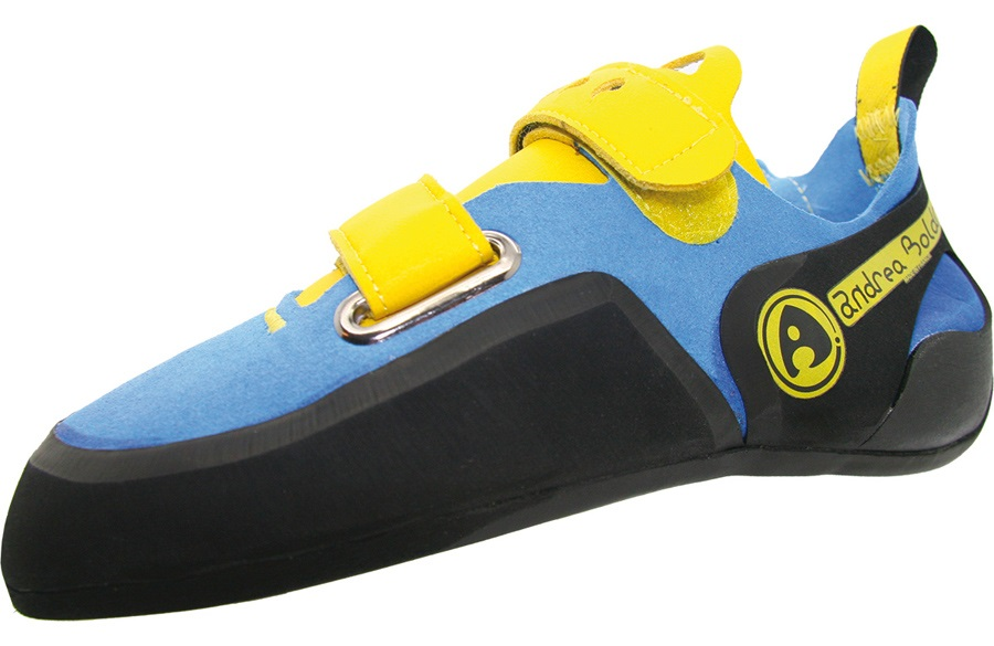 Andrea Boldrini Puma Velcro Rock Climbing Shoe, UK 3.5+ | EU 36.5 Blue