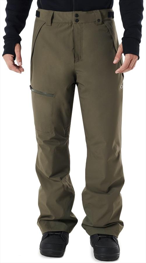 954e5ca3da Oakley Ski Insulated 10K/2L Snowboard/Ski Pants, S Dark Brush