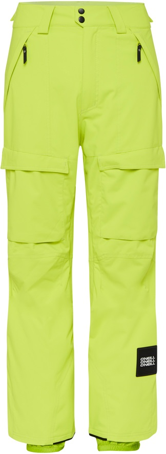 O'Neill Cargo Snowboard/Ski Pants, M Lime Punch