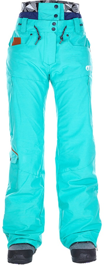 Picture Slany Women's Ski/Snowboard Pants, XS Mint Green