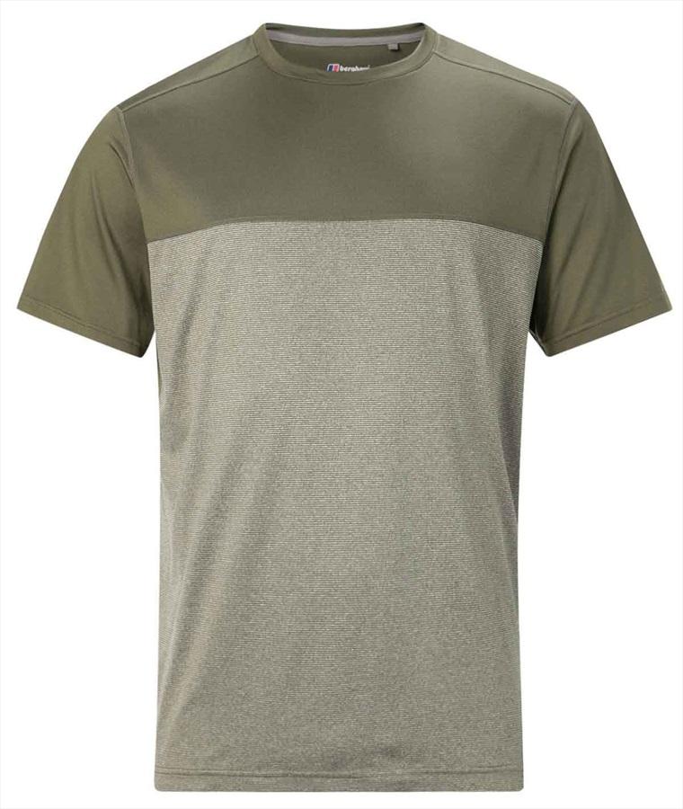 Berghaus Voyager Basecrew Short Sleeve Tech T-Shirt, S Ivy Green