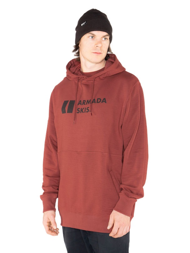 Armada Multiply Pullover Hoodie, L Clay