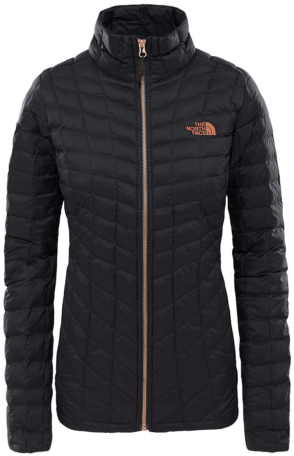 The North Face Womens Thermoball Full Zip UK 16 TNF Black