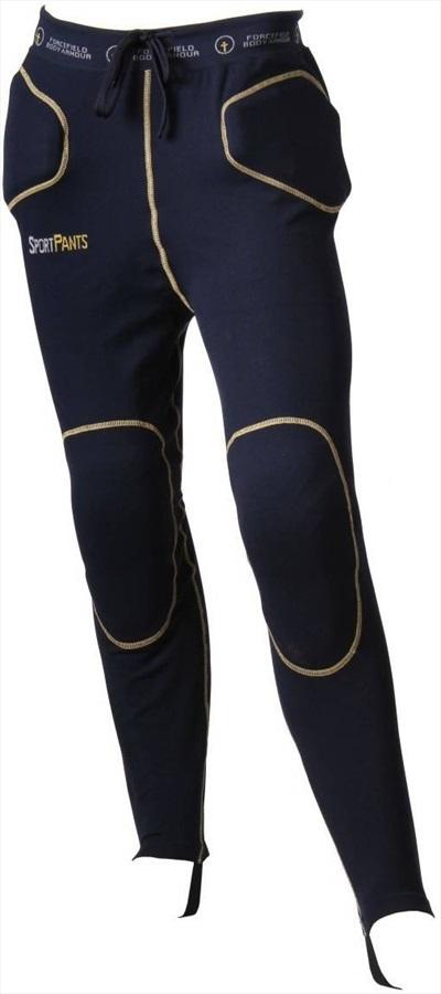 Forcefield Sport Pants Level 1 Impact Crash Pants, XL Navy/Yellow