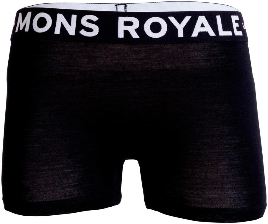 Mons Royale Hannah Hot Pants Women's Merino Underwear XS Black