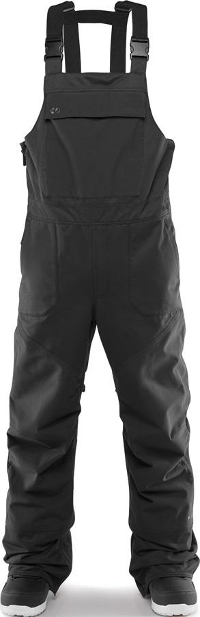 thirtytwo Basement Bib Snowboard/Ski Pants, M Black 2020
