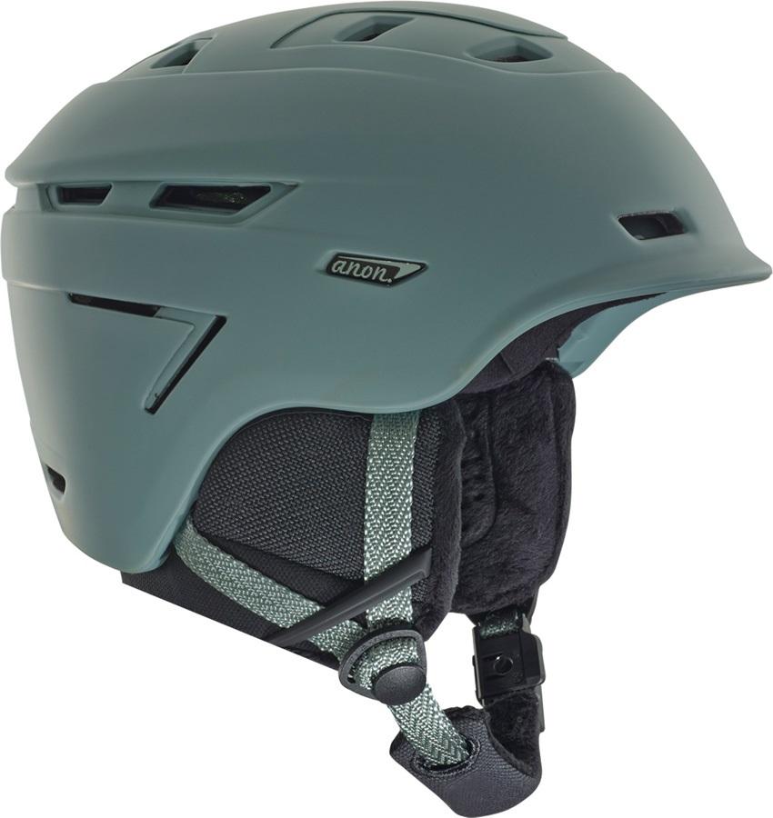 Anon Omega Women's Ski/Snowboard Helmet, S Grey