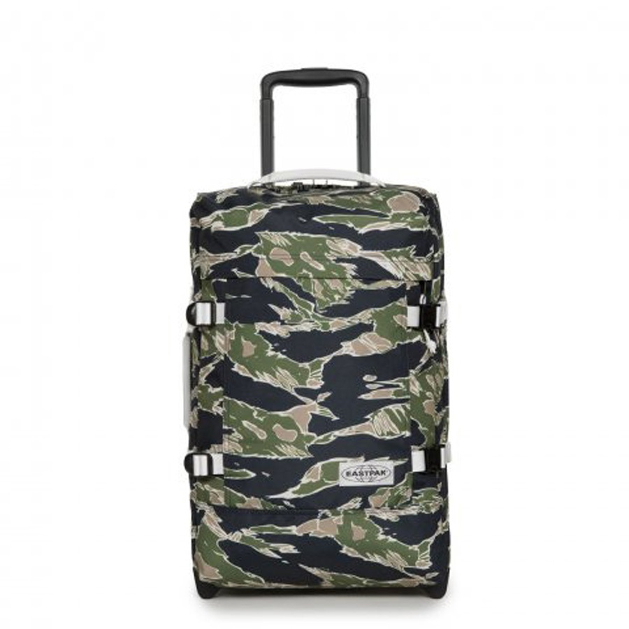 Eastpak Tranverz S Wheeled Bag/Suitcase, 42L Camo'Ed Forest
