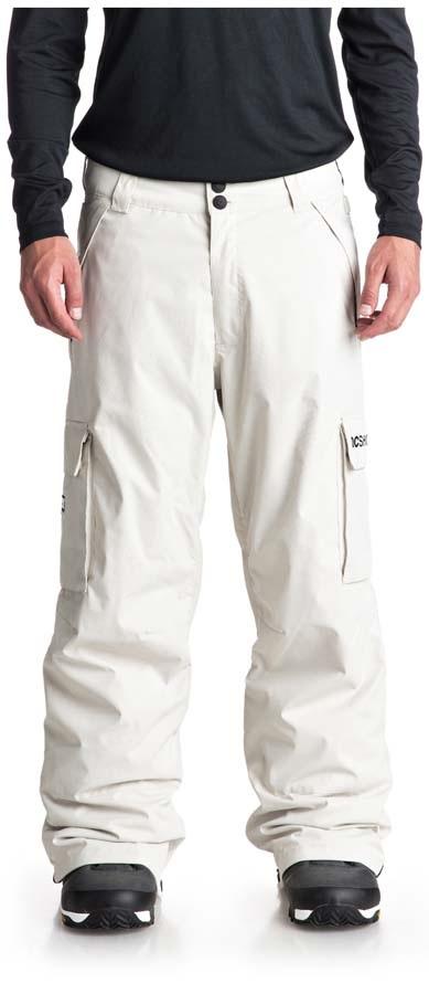 DC Banshee Ski/Snowboard Pants L Silver Birch