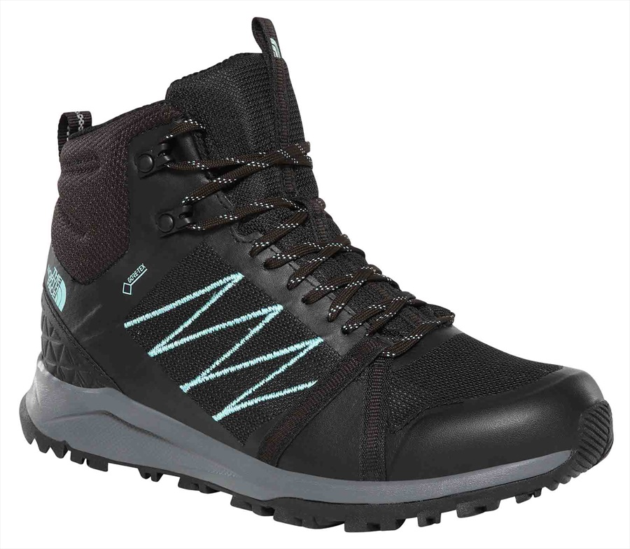 The North Face Litewave FP II MID GTX Women's Hiking Boots, UK 4 Black